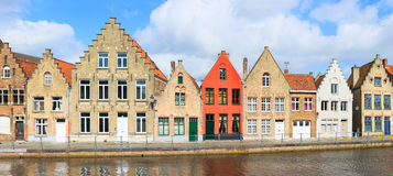 Bruges town in Belgium Royalty Free Stock Photos