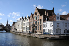 Bruges town cannal Stock Images
