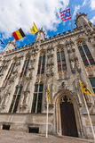 Bruges, town hall Stock Image