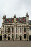 Bruges town hall, Belgium Stock Photography