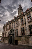 Bruges traditional gothic architecture Royalty Free Stock Photos