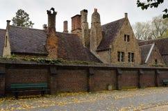 Bruges. Typical medieval buildings, Bruges belgium Royalty Free Stock Image
