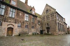 Bruges. Typical medieval buildings, Bruges belgium Stock Photography