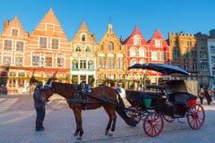 Bruges ulicy Zdjęcia Royalty Free