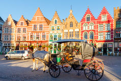 Bruges ulicy Zdjęcie Royalty Free