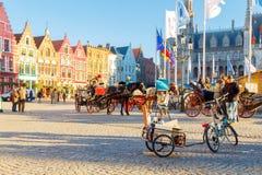 Bruges ulicy Zdjęcie Stock