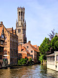 Bruges view Stock Photos