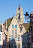 Bruges - View from the Rozenhoedkaai Stock Photography