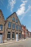 Bruges - vue du Rozenhoedkaai Photographie stock libre de droits
