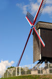 Bruges, windmill Royalty Free Stock Photography