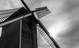 bruges windmill Arkivbild