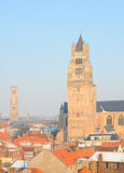 Bruges in winter Stock Photo