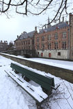 Bruges winter Royalty Free Stock Photo