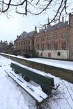 Bruges zima Zdjęcie Royalty Free