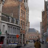 Brugge stock fotografie