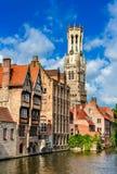 Брюгге, Brugge, Бельгия Стоковое Фото
