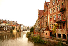 Brugge. Capital of West Flanders province, northwestern Belgium Stock Photography
