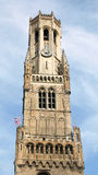 Brugge Belfort stock foto