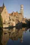 Brugge in België Royalty-vrije Stock Fotografie