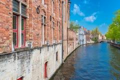 Brugge in België stock foto's