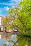 Brugge in België stock afbeelding