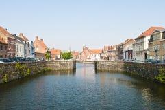 Brugge België stock foto's