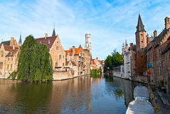 Brugge. België. stock foto