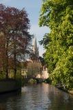 Brugge België Stock Fotografie