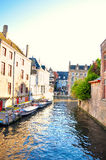 Brugge België stock foto