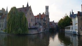 Brugge, België, beelden van de stad royalty-vrije stock afbeeldingen