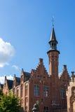 BRUGGE, BELGIË EUROPA - 25 SEPTEMBER: Mening van Art School Stock Foto