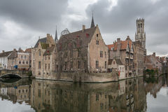 Brugge, Belgium. Bruges - Belgium jewel and one of the most romantic cities on earth Royalty Free Stock Photography