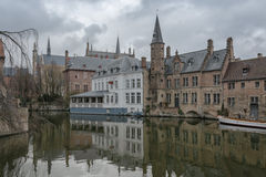 Brugge, Belgium. Bruges - Belgium jewel and one of the most romantic cities on earth Stock Photo