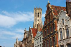 Brugge, Brugge. Royalty-vrije Stock Foto