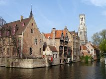 Brugge Brugge Stock Afbeelding