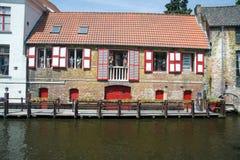 Brugge bulding Stock Image