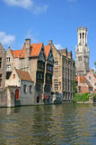 Brugge Canal Royalty Free Stock Photo