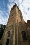Brugge Churchtower Royalty-vrije Stock Afbeeldingen