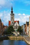 Brugge, city in Belgium Royalty Free Stock Photos