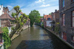 Brugge city center Royalty Free Stock Photo