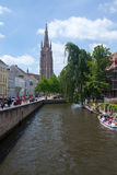 Brugge city center Royalty Free Stock Photography