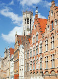 Brugge de stad in Stock Foto