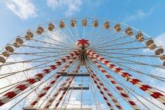 Brugge Ferris Wheel Royalty-vrije Stock Foto