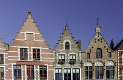 Brugge Houses Royalty Free Stock Image