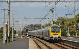 Brugge järnvägsstation arkivfoto