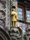 Brugge medieval statute Royalty Free Stock Photography