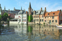 brugge miasto wyszczególnia starego fotografia stock