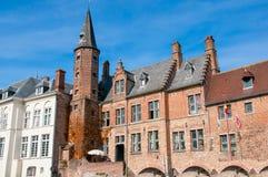 Brugge, middeleeuwse stad Royalty-vrije Stock Fotografie