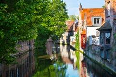 Brugge, middeleeuwse stad in België Royalty-vrije Stock Fotografie