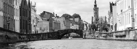 Brugge most Obraz Stock